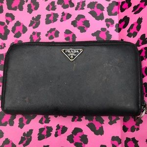 Auth Prada wallet